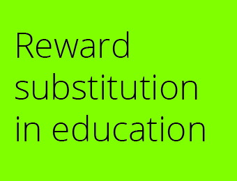Reward Substition in business