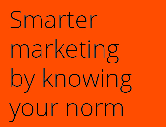 SmarterMarketingByKnowingYourNorm